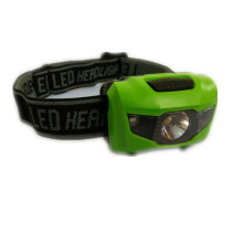 3 LEDs Mini Headlight Headlamp Flashlight Torch Lamp Light for Running