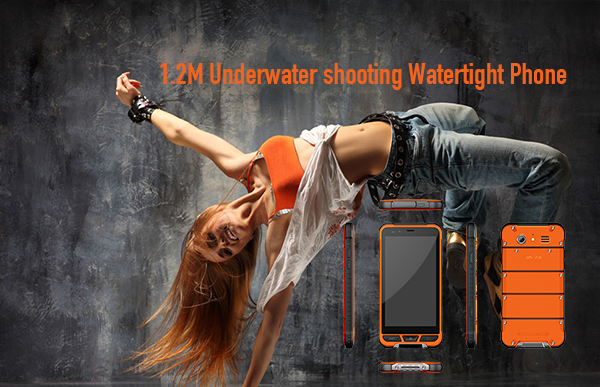 1.2M Underwater shooting Watertight Phone