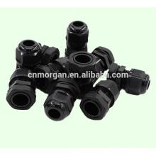 Wasserfeste Nylon-Kabelverschraubung mit Kontermutter, in verschiedenen Farben erhältlich, CE-Zulassung