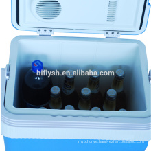 AQ-24L(109) DC 12V AC 220V 60W Cool and Hot double use Home and Car double use car refrigerator(CE certificate)