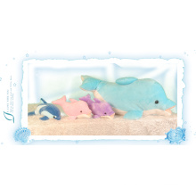 Sea museum series dolphin pillow