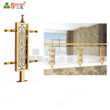 Outdoor / Indoor Balcony Decorating Stainless Steel Baluster Post