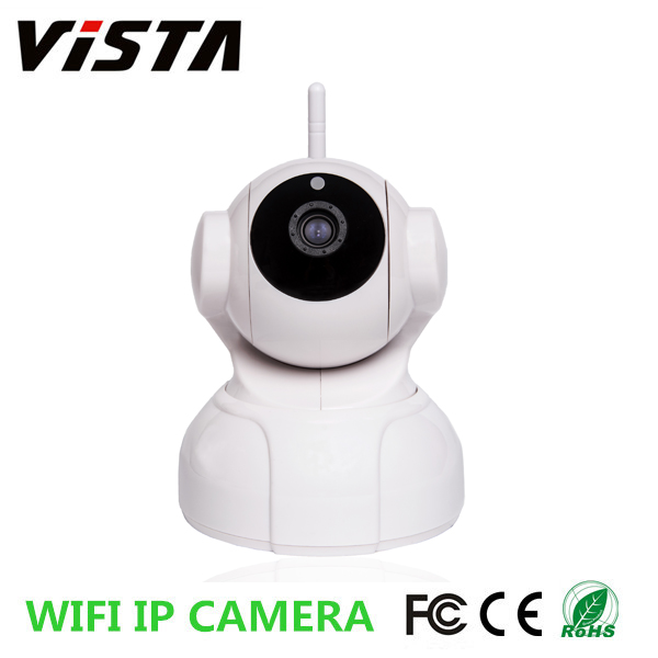 WiFi P2P 1.3 MP Webcam Night Vision Led IR IP Camera