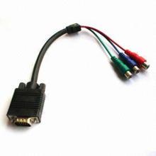 VGA-кабель 15-контактный / FM-кабель