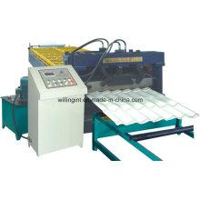Machine de formage automatique de rouleaux de tuiles en tôle d'acier