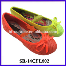 2014 new girl shoes new design fashion fancy girl shoe