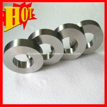 Alta qualidade personalizado tamanho gr23 anel de titânio