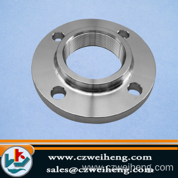 TP304 TP316 oil and gas steel pipe flange, stainless steel pipe fittings