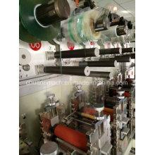 Alarme automático e sistema de rectificação, sete estações Rotary Die máquina de corte