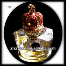 Belle bouteille de parfum en cristal C188
