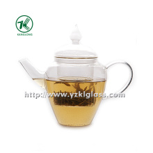 Clear Single Wall Glass Teapot by SGS... (700ML)