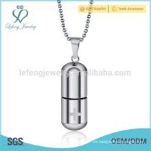 Joyería pendiente de la plata caliente de la venta, colgantes de la bala, diseño de los colgantes