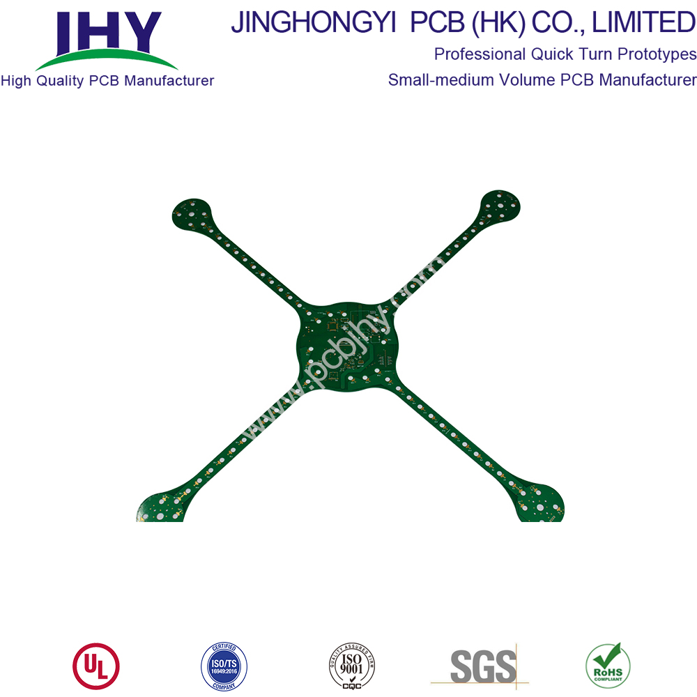FR4 1.6mm UAV Model 4 Layer PCB
