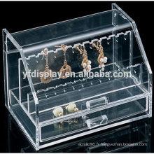 Organisateur de bijoux acrylique