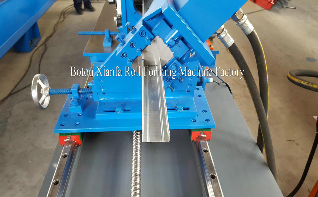 U C Stud and Track Forming Machine