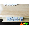 Wooden domino table