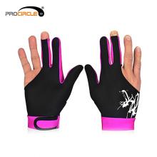 Großhandel 3 Finger Gaming Billard Snooker Handschuh