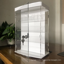 Elegant Modern Buy Display Showcase Acrylic Boxes Jewelry Counter Top Watch Jewelry Display For Sale
