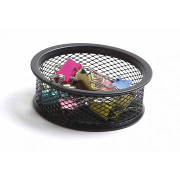 Wire Mesh Metal Office Desk Organizer Clip Holder