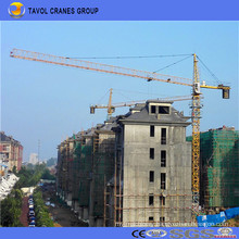 China 10t Tower Crane 60m Jib with 1.5t Tip Load Qtz125-6015 Tower Crane