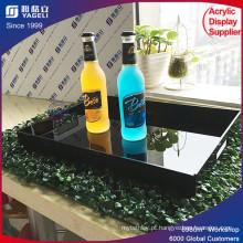 KTV Acrylic Serving Tray para alimentos / barware