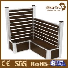 Caja / macetas / cercas de plástico compuesto de madera de WPC