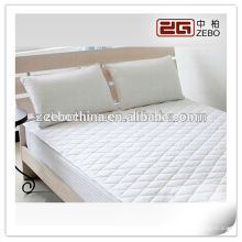 100% Polyester Fabric Hot Selling White Color Waterproof Mattress Protector