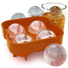Molde de bola de hielo de silicona de moda libre de BPA
