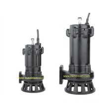 Wq Pompe d'égout submersible pour traitement des eaux usées