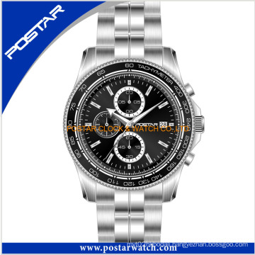 Fashion Chronograph Watch Stainless Steel Watch for Men