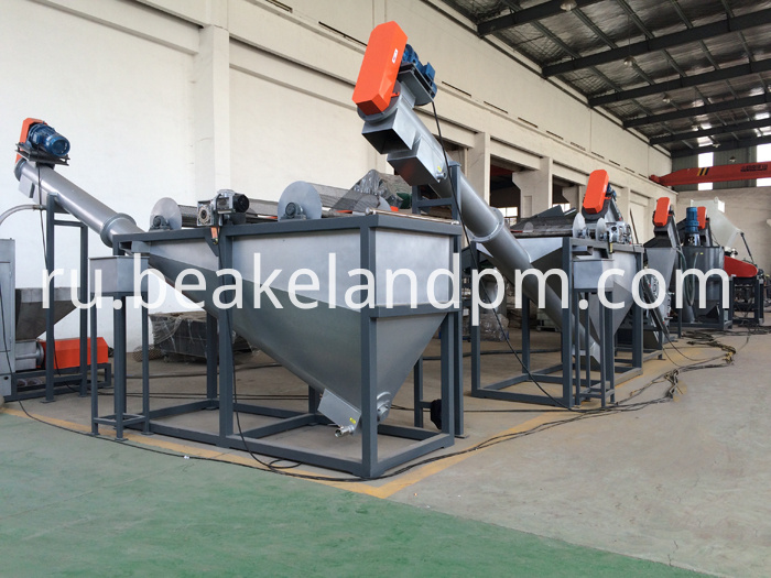 Pet Recycling Flakes Machinery