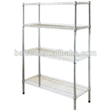 250kgs capacity heavy duty stainless steel wire shelving system
