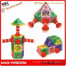 Éducation de la petite enfance jouets magnétiques pratiques