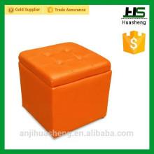 morden multifunction PU stool, leather stool, foldable stool, footrest