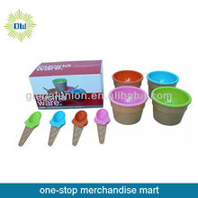 plastic ice cream cup