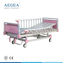 АГ-CB012 4-часть стальной доски кровати детские кроватки комплект постельных принадлежностей с ручной рукояткой