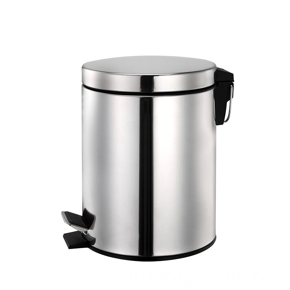 3L Stainless Steel Trash Bin