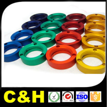 CNC токарная алюминиевая Al7075 / Al6061 / Al2024 / Al5051 Алюминиевая деталь, обрабатываемая вращающимся центром