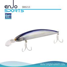 Angler Select Crankbait Minnow Fishing Tackle Bait with Bkk Treble Hooks (SB0213)
