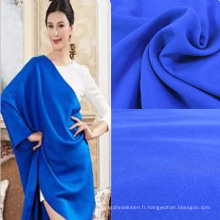 Tissu rayonne spandex de couleur unie pour les femmes robe