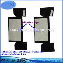 Hot sale custom Polyester felt seal pad