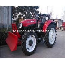 Farm Tractor With Front Dozer blade bullzoder