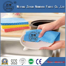 Application de cuisine imprimée Nettoyage de lingettes Tissu non tissé Spunlace