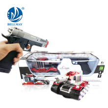 New Product B/O shooting gun tank attack shooting gun games toys