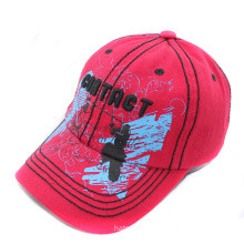 2015 Hot Sale Washed Embroidery Cotton Baseball Caps (GkS05-001)