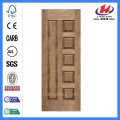JHK-010 Engineered Sapele Veneer   MDF Interior Door Skin Panel
