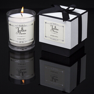 environmentally friendly soy wax jar candles with scent