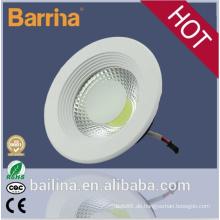 2015 neue Produkte Bridgelux Epistar COB dimmbare LED Downlight 10W 15W 20W 30W