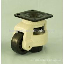 Exportado de alta qualidade fundição casting pequena rodízio