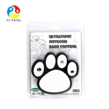 Newest Model in Dogpaw Shape For 50 Feets Away with Black and White Color Ultrasonic Dog Device Newest Humanely Stop Your Or Your Neighbor's Dog From Barking Anti Dog Bark Device